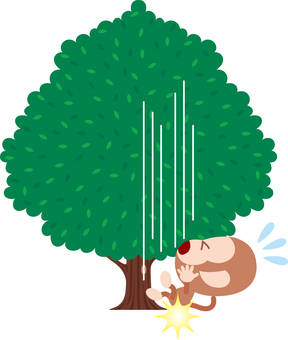 Monkey also falls from the tree Proverbial story