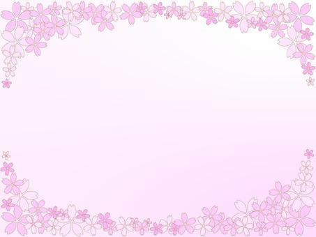Cherry Blossom Frame 9