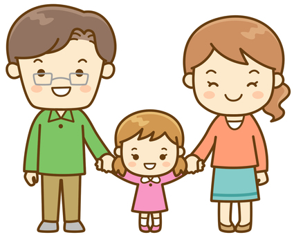 Hand connecting families