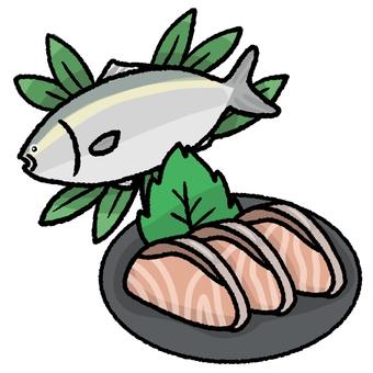 First time in sashimi with sashimi
