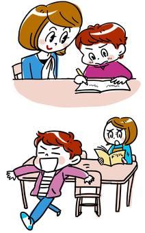 식당 학습