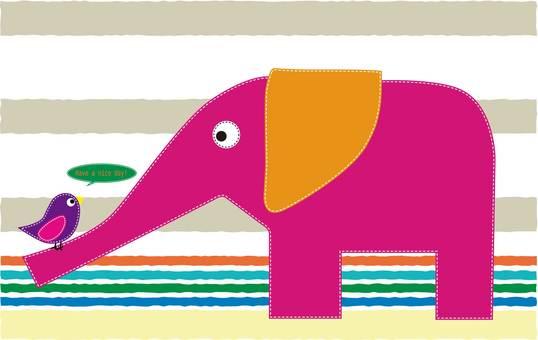 코끼리와 새
