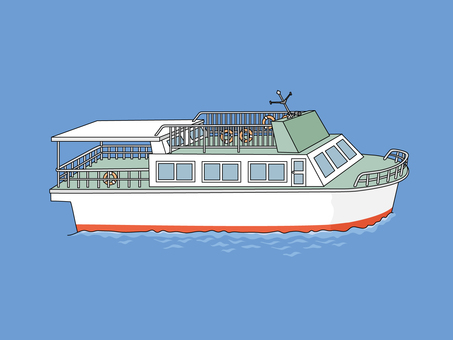 Small passenger boat 1