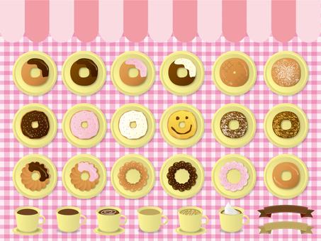 Donut set 02