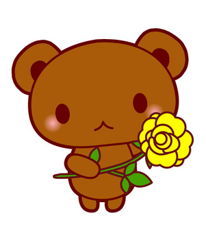 Father's Day · Flower holding of the Kuma barbara