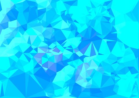 水色のデジタルポリゴンベクター背景素材