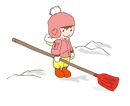 Snow shovel 1