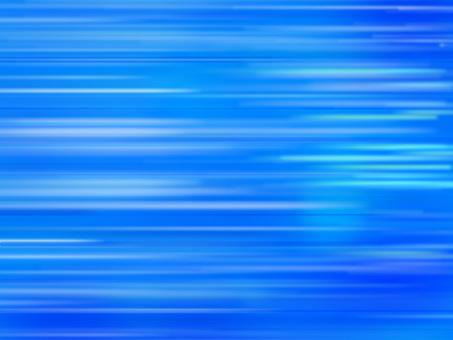 Speed line / stream line (blue)