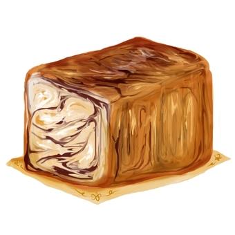Marble danish bread