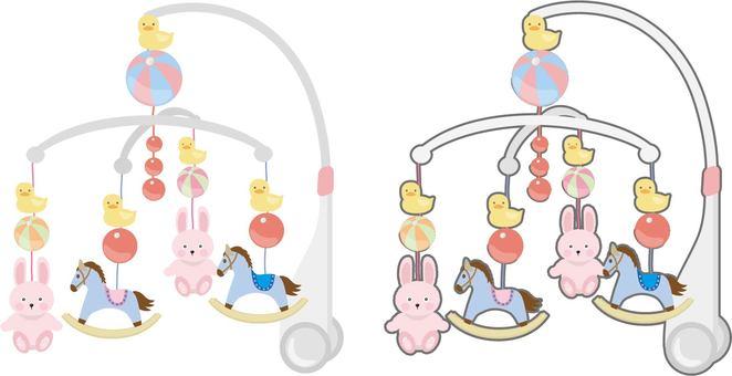 Baby merry-go-round