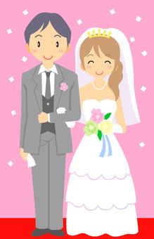 夏/結婚式1
