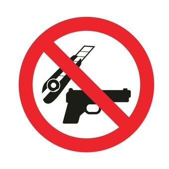 Do not bring dangerous goods