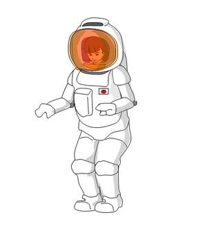 여성 우주 비행사