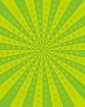 Green star radiation