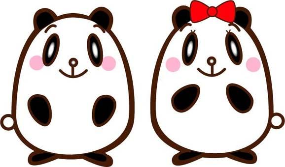 팬더 커플 서