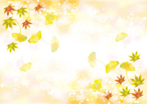 Autumn leaves & gingko 20