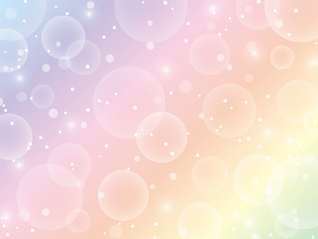 Rainbow colored glitter background material