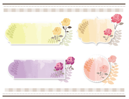 Flower frame part 3