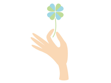 Hand and Clover