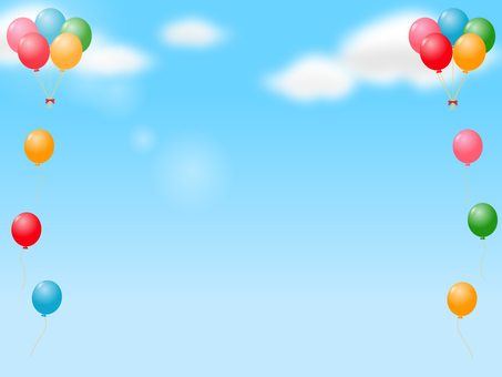 Balloon decoration frame 2