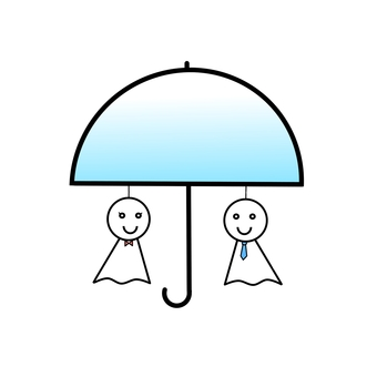 우산있는 테루 보 우즈 우산 2