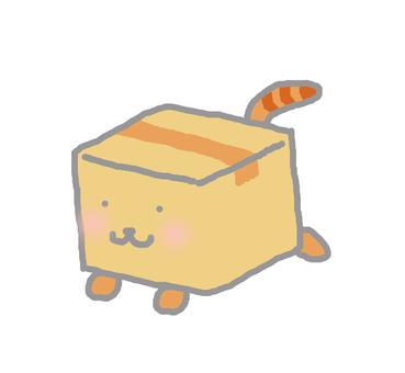 Running cardboard