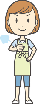 Apron youth Bob-172-whole body