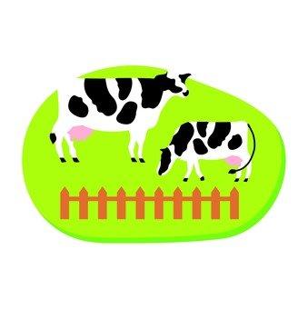 牧場牛01