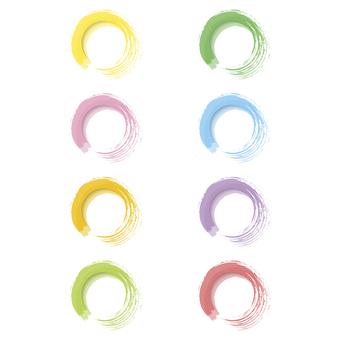 Watercolor icon