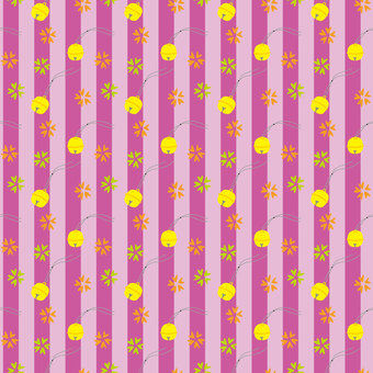 Japanese bell background material (pink)