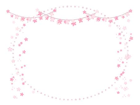 벚꽃 간단한 프레임