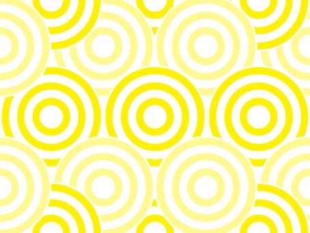 Swirl pattern _ yellow series