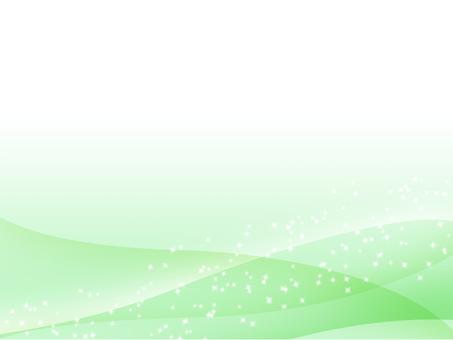 Green gradation sparkly background