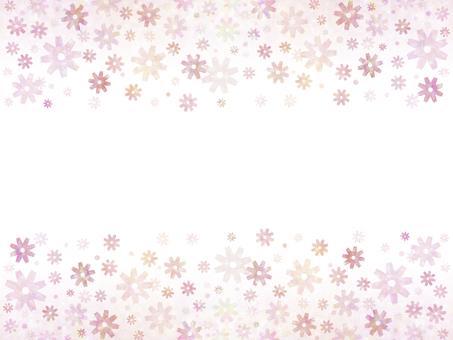 花卉圖案(粉紅色3)