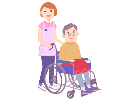 Caregiver_wheelchair_1