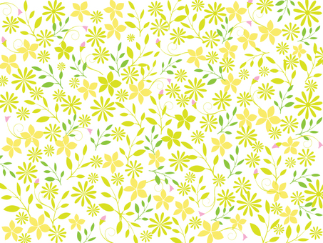 Flower pattern - simple 3 colors