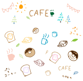 Cafe _ material set 02