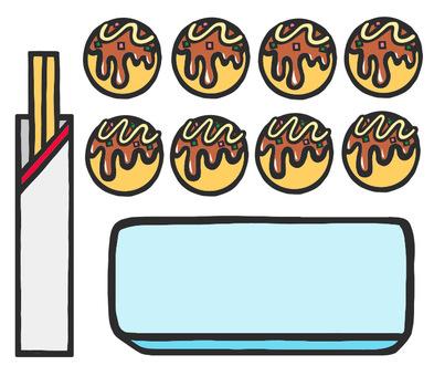 章魚燒套餐1
