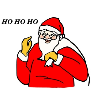 Santa Claus without background