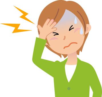 70919. Illness 4, Female, Headache