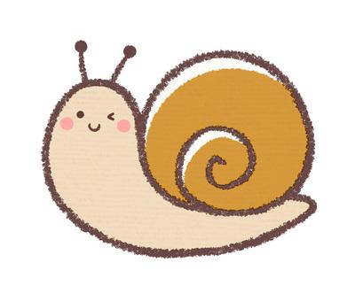 Winking snail
