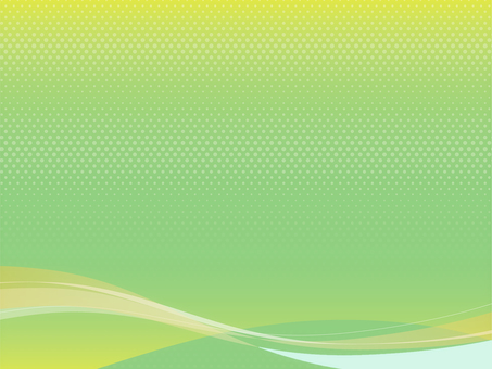 Background material Wave green