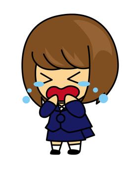 女の子(泣く)