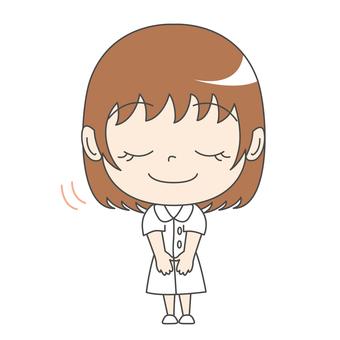 Nurse A: Front: Oshikyu