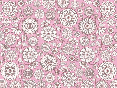 Botanical pattern wallpaper 28