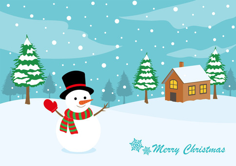 Christmas card material 1