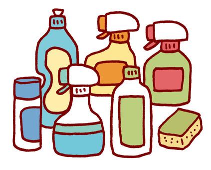 Detergent, etc.
