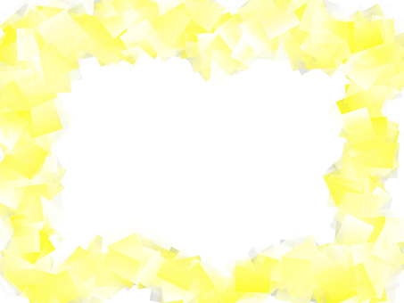 Yellow cube frame