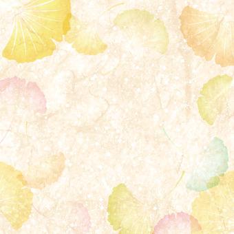 Ginkgo leaves frame