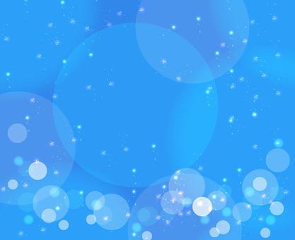 반짝이 질감 블루